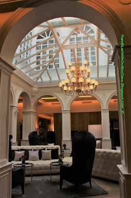 Atrium, Gran Melia Hotel Palacio de los Duques, Madrid, Spain