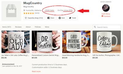 Mug Shop On Etsy