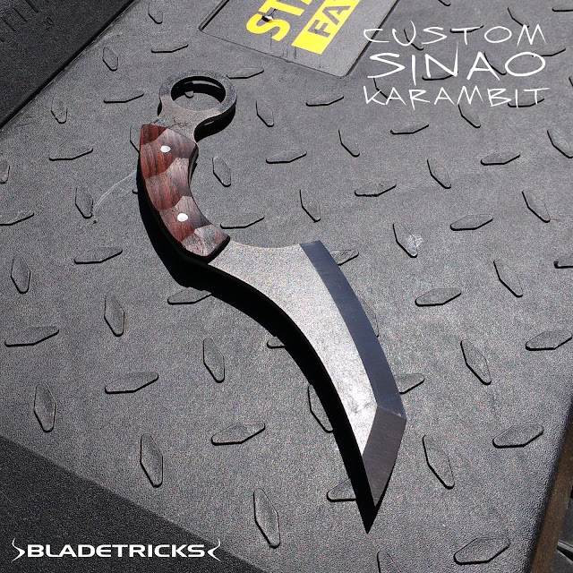 Elegant custom made Karambit by master knifemaker Bladetricks