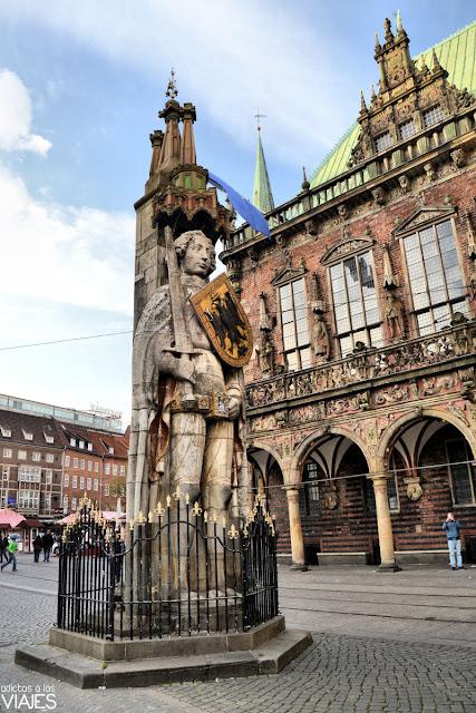 Estatua de Rolando Bremen