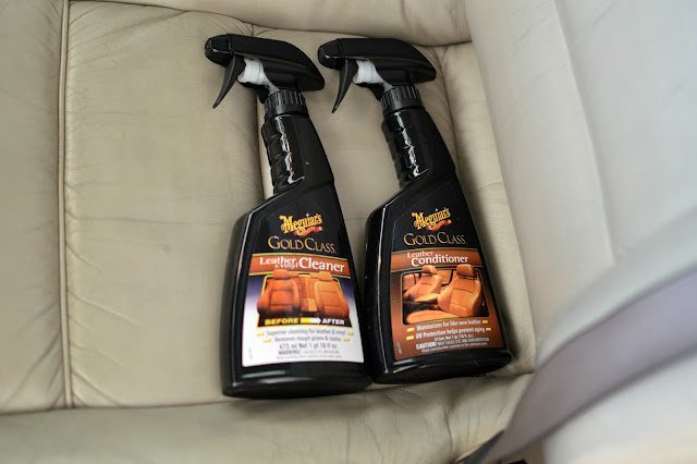 Meguiar's leather cleaner review
