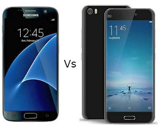 Galaxy S7 vs Xiomi Mi 5