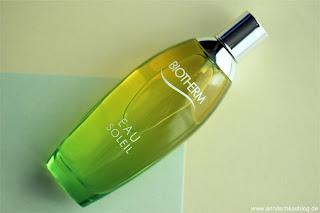 Review: Biotherm Eau Soleil - Sommer in Flaschen! - www.annitschkasblog.de