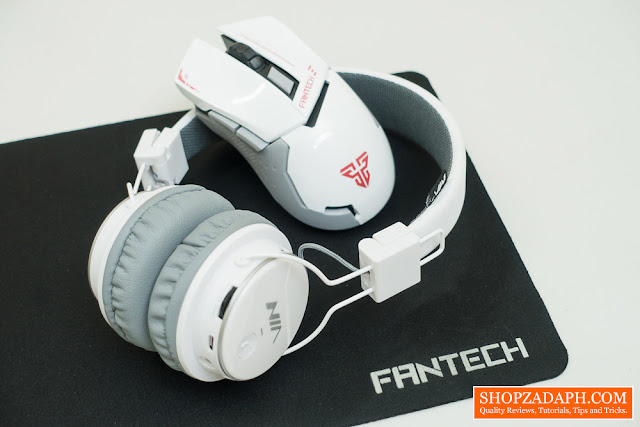Fantech WG8 Gaming Mouse Review - Nia Q8 Bluetooth Headphones Review