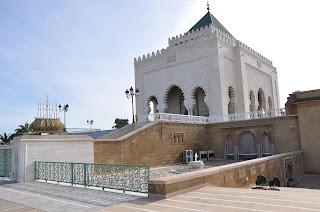 umroh plus maroco Mohammed V'S Mausoleum