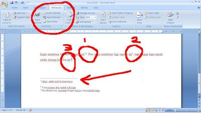 Cara Membuat Footnote Atau Catatan Kaki Dengan Ms Word Materi Kkpi