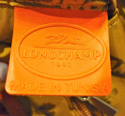 c00b07e919de And here s the leather tag containing the Longchamp logo+country of origin  heat stamps. FYI