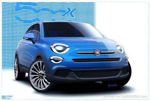 Fiat 500X Pop Concept