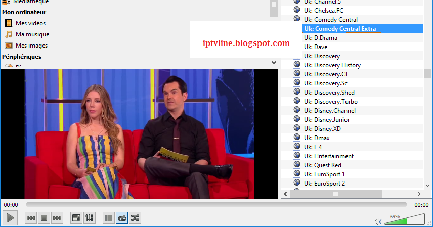 how to stop iptv skipping on vlc