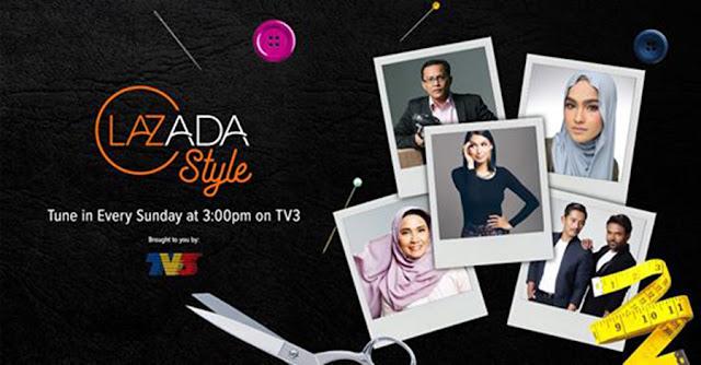 LazAdaStyle Fashion Reality TV Show Bersiaran Di TV3