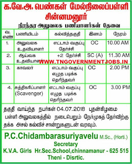 KVA-girls-higher-secondary-school-chinnamanur-theni-tamilnadu-non-teaching-jobs-vacancy-notification-2018-walk-in-interview-tngovernmentjobs