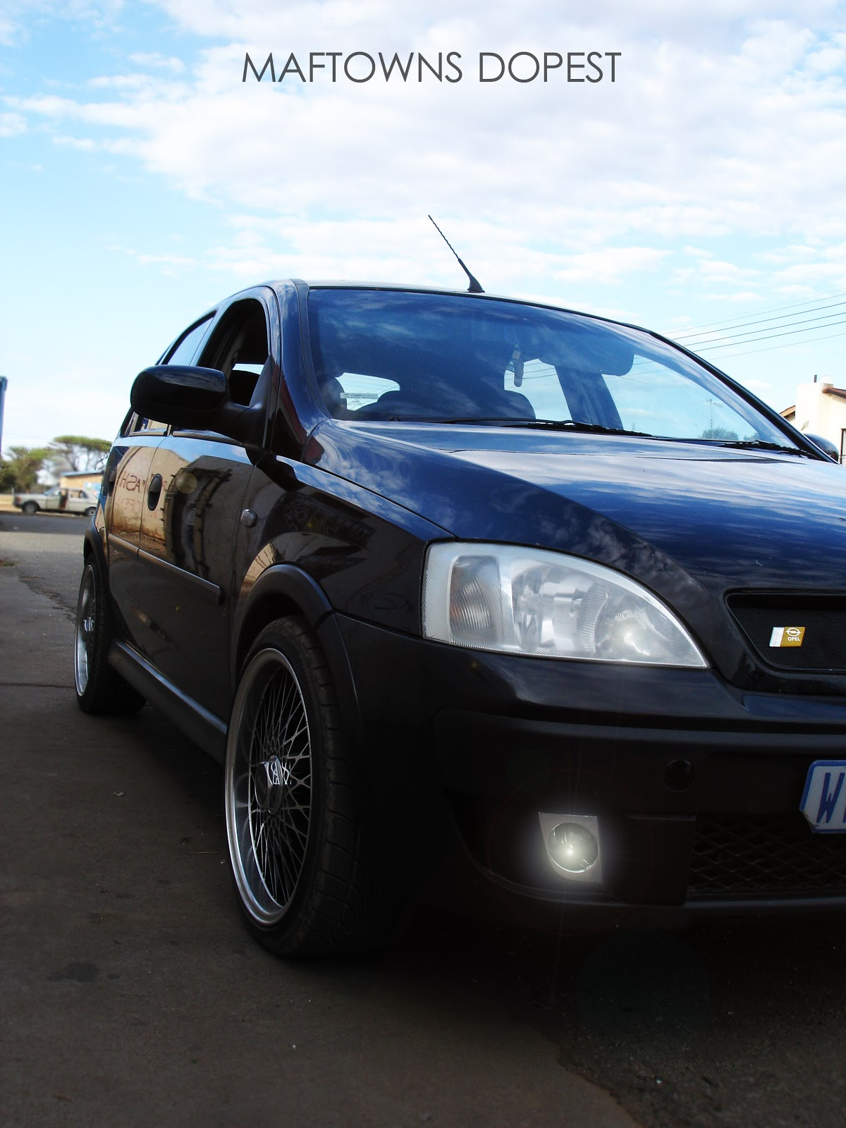 MAFTOWN'S DOPEST: Money Lover's Opel Corsa