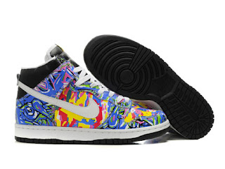 new product 85d61 5ef9f ... coupon custom nike graffiti explosion sb dunk high multicolored men  shoes on sale 18cf1 89b37