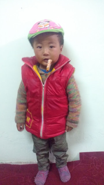 Ladakhi naughty kid