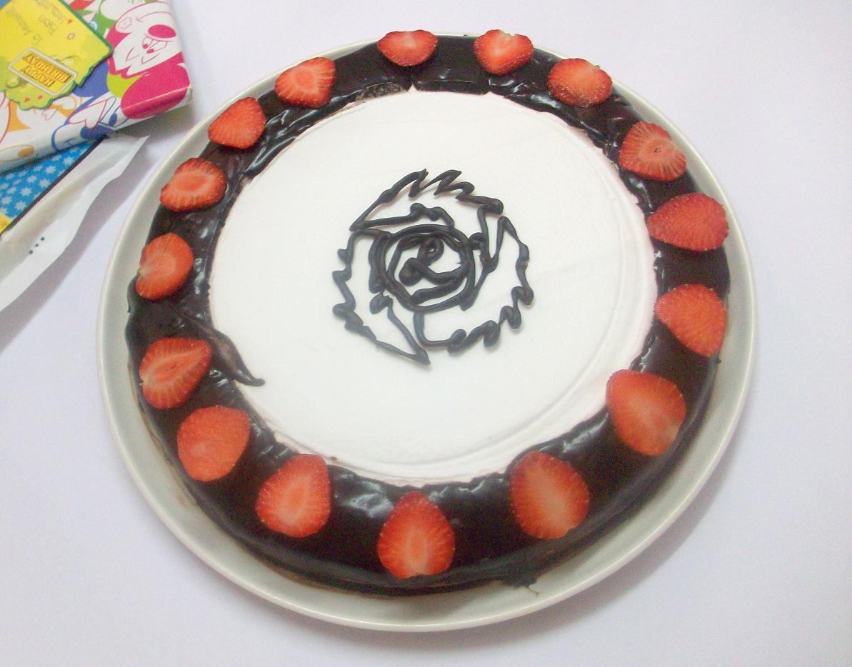 Sloppy Chocolate Cake