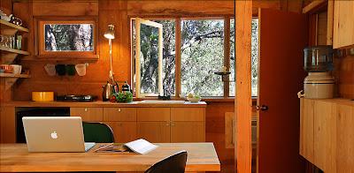 far meadow cabin interior