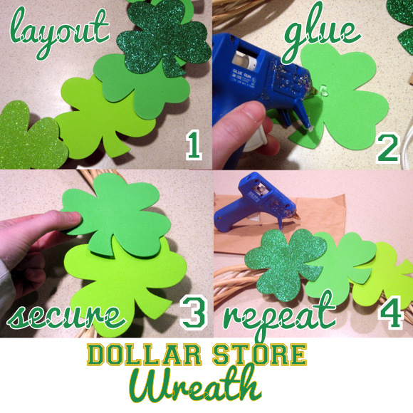 Easy St. Patrick's Day Wreath: A Simple DIY Wreath for St. Patrick's Day | DIY Playbook