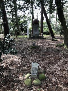 刀尾神社の三十三糎機械水雷
