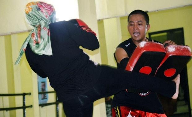 Prestasi Lei di Thai Boxing Bawa Ciamis ke Kancah Nasional