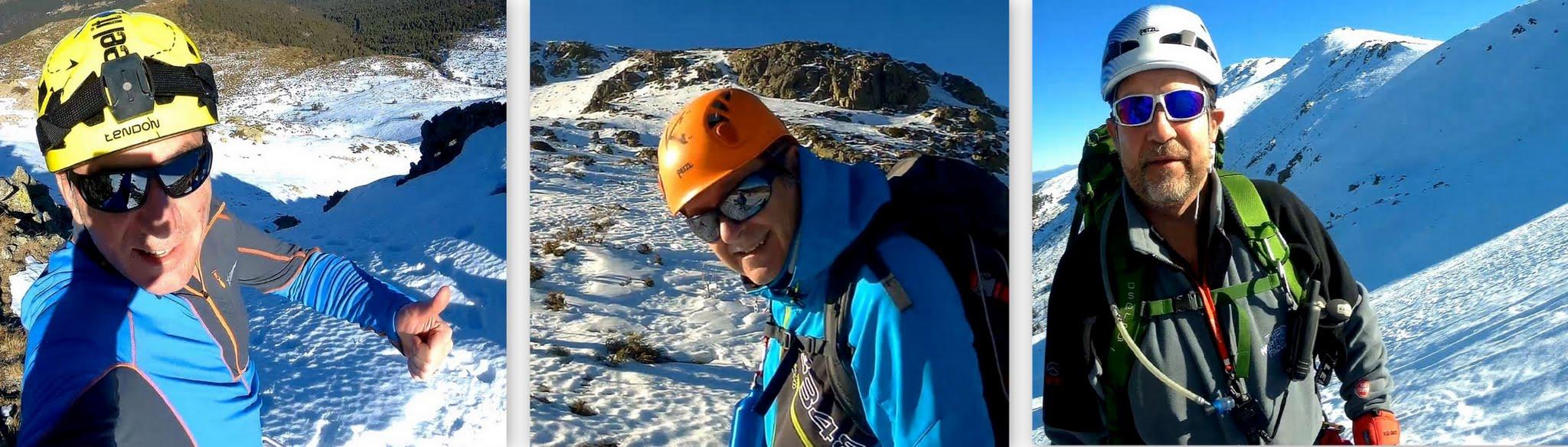 Valdemartin, iniciación montaña invernal