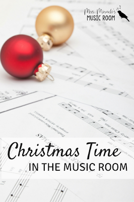Christmas Time in the Music Room: Great tips for your music lessons in December!