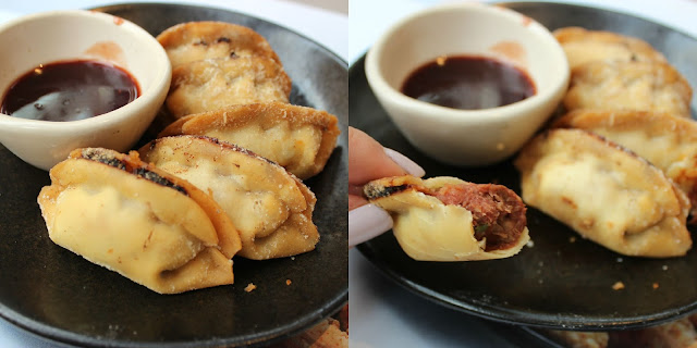 A picture of Wagamama Duck Gyoza