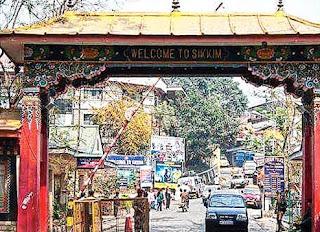 Rangpo in East Sikkim