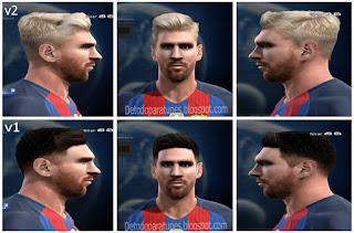 Face Lionel Messi 2016 Pes 2013 By Rgr And Vicen