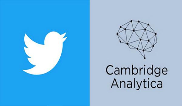 فضيحة كامبريدج أناليتيكا: تويتر متورطة كذلك!