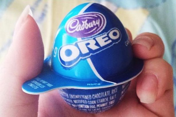 Hombre dice haber creado primero el huevo de Oreo
