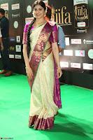 Adah Sharma looks super cute in Saree at IIFA Utsavam Awards 027.JPG