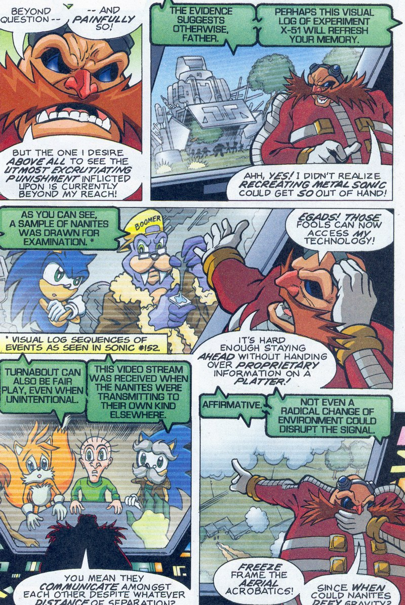 Read online Sonic The Hedgehog comic -  Issue #159 - 19