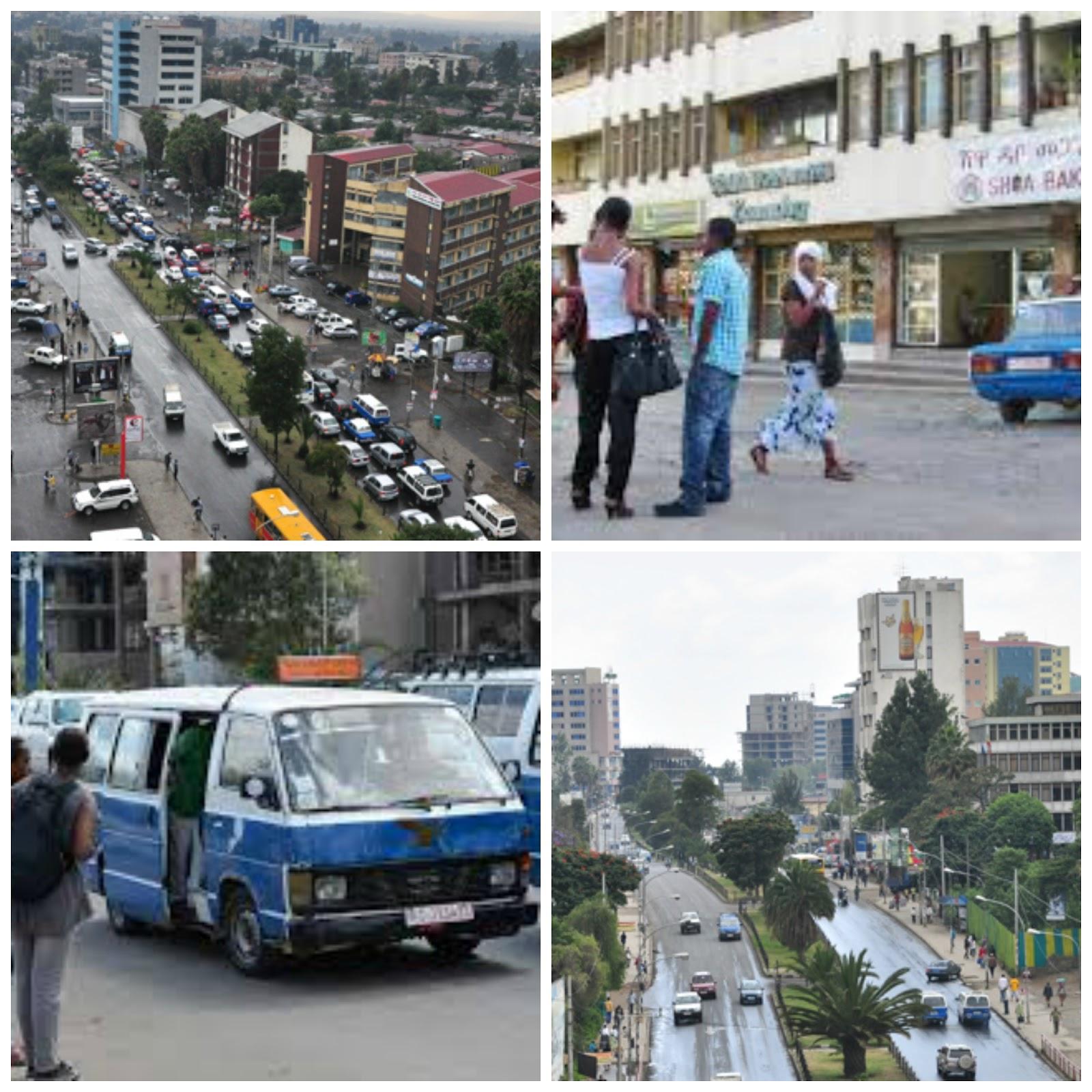 858628e8d2b9 Bole Road - a bustling arterial road in Addis Ababa