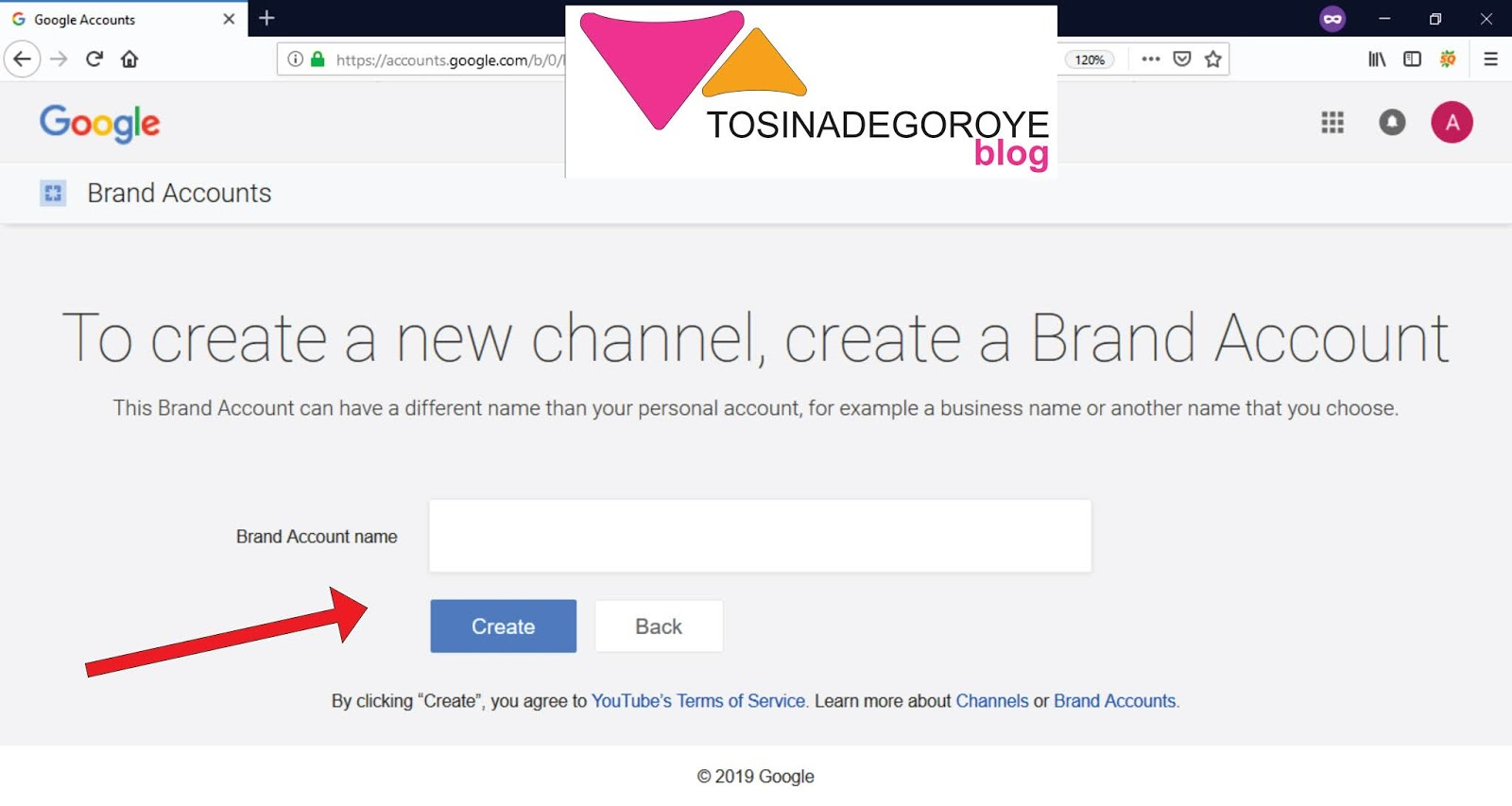 How to Create A YouTube Channel for your Business - Tosinadegoroyeblog
