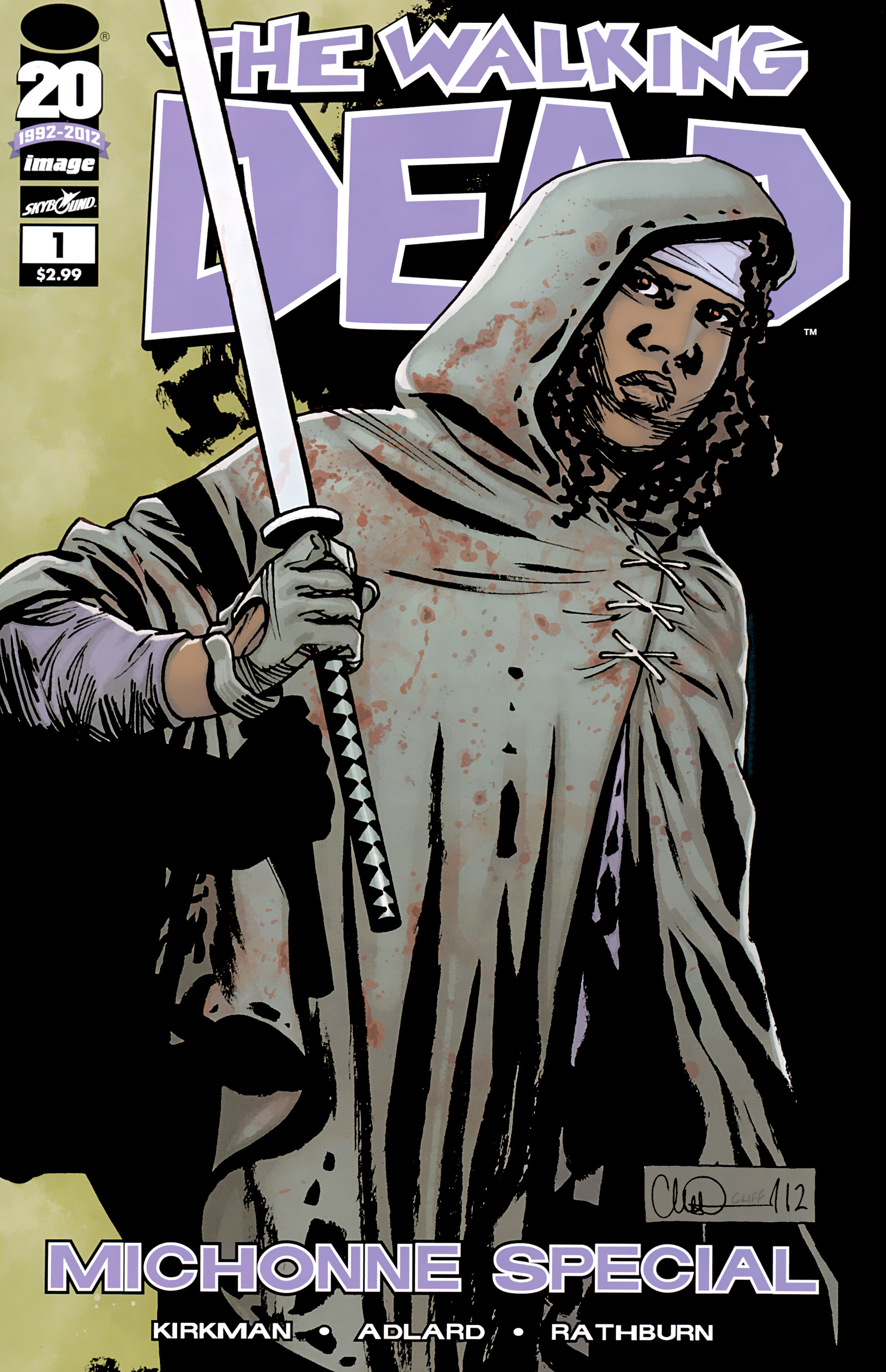 The Walking Dead _Special_-_Michonne_Special Page 1
