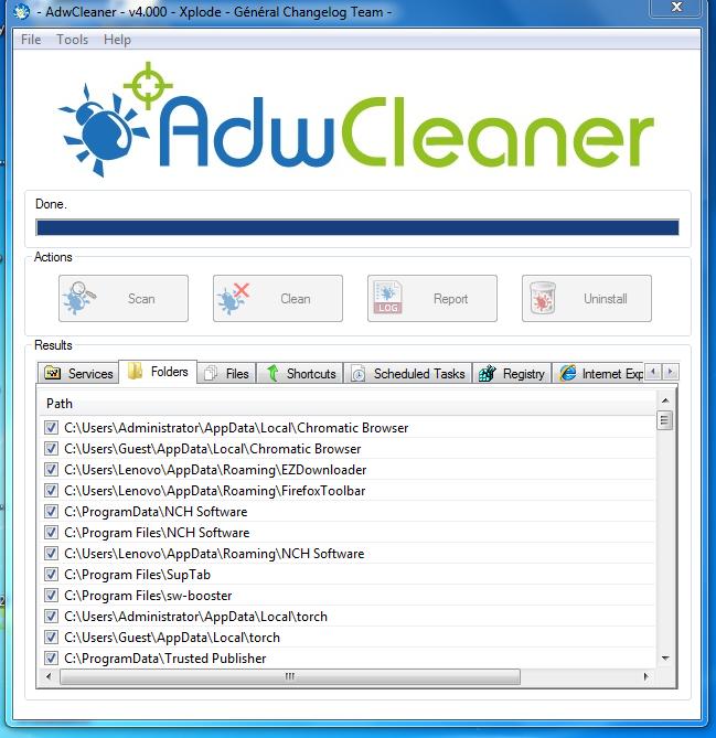 Hapus Adware Dan Toolbar di Browser | Adwcleaner Program Ringan Hasil Maximal