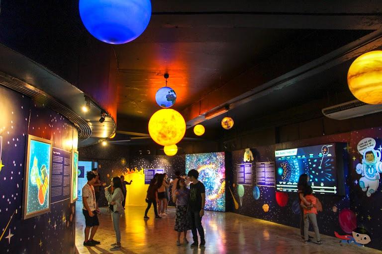 National Planetarium's Galactic Adventure in Rizal Park