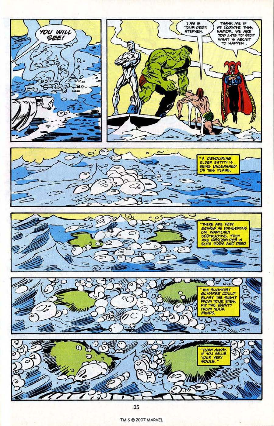 Read online Silver Surfer (1987) comic -  Issue # _Annual 5 - 37