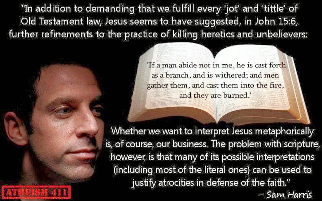 acerbic politics  justifying atrocities in defense of the faith