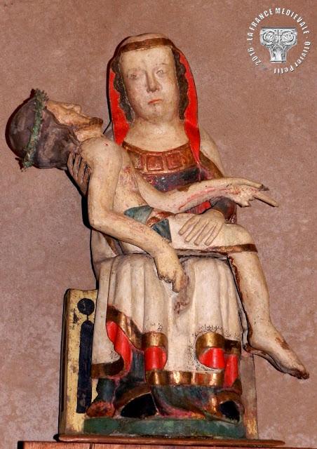 SIGOLSHEIM (68) - Pietà (XIVe siècle)