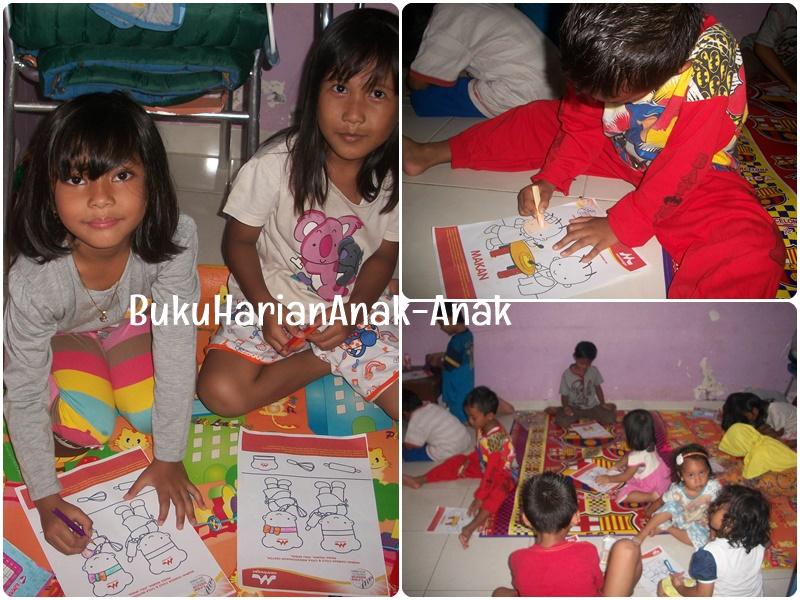 Buku Harian Anak Anak Mewarnai Bersama Morinaga Chil Go Di Rumah Faiz
