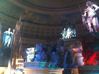 caesar's palace las vegas atlantis show underwater animatronic