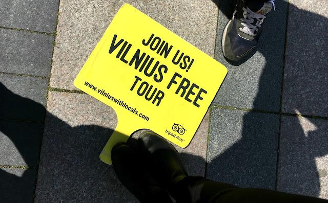 Vilnius free tour
