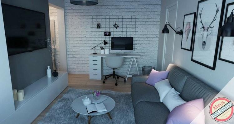 decor apartamento pequeno