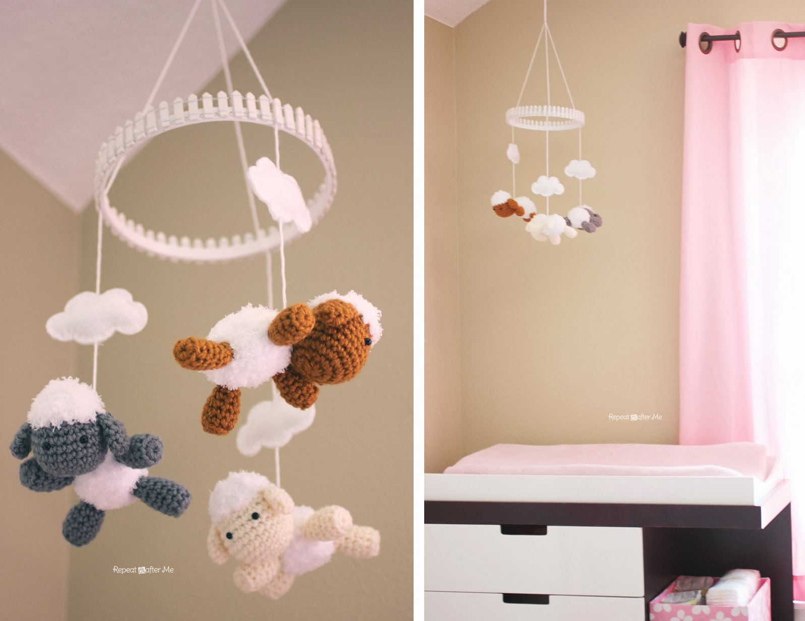 Baby Girl Nursery Diy Decorating Ideas Repeat Crafter Me