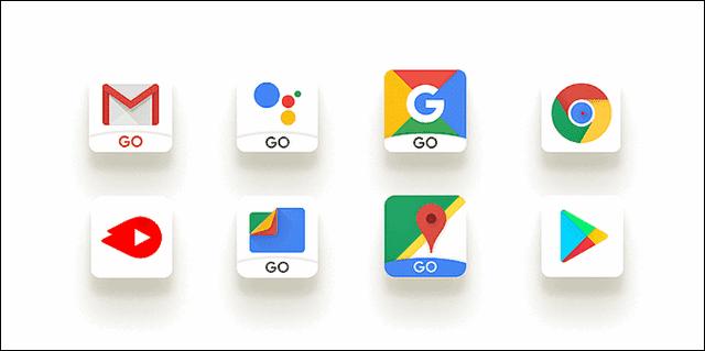 استخدام تطبيقات Android Go