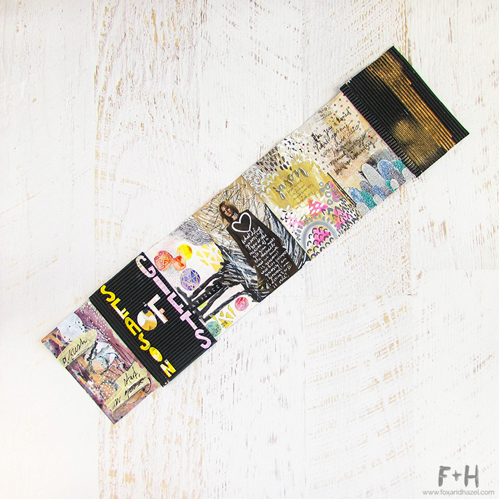 Fox + Hazel: Art Journal Season of Gifts