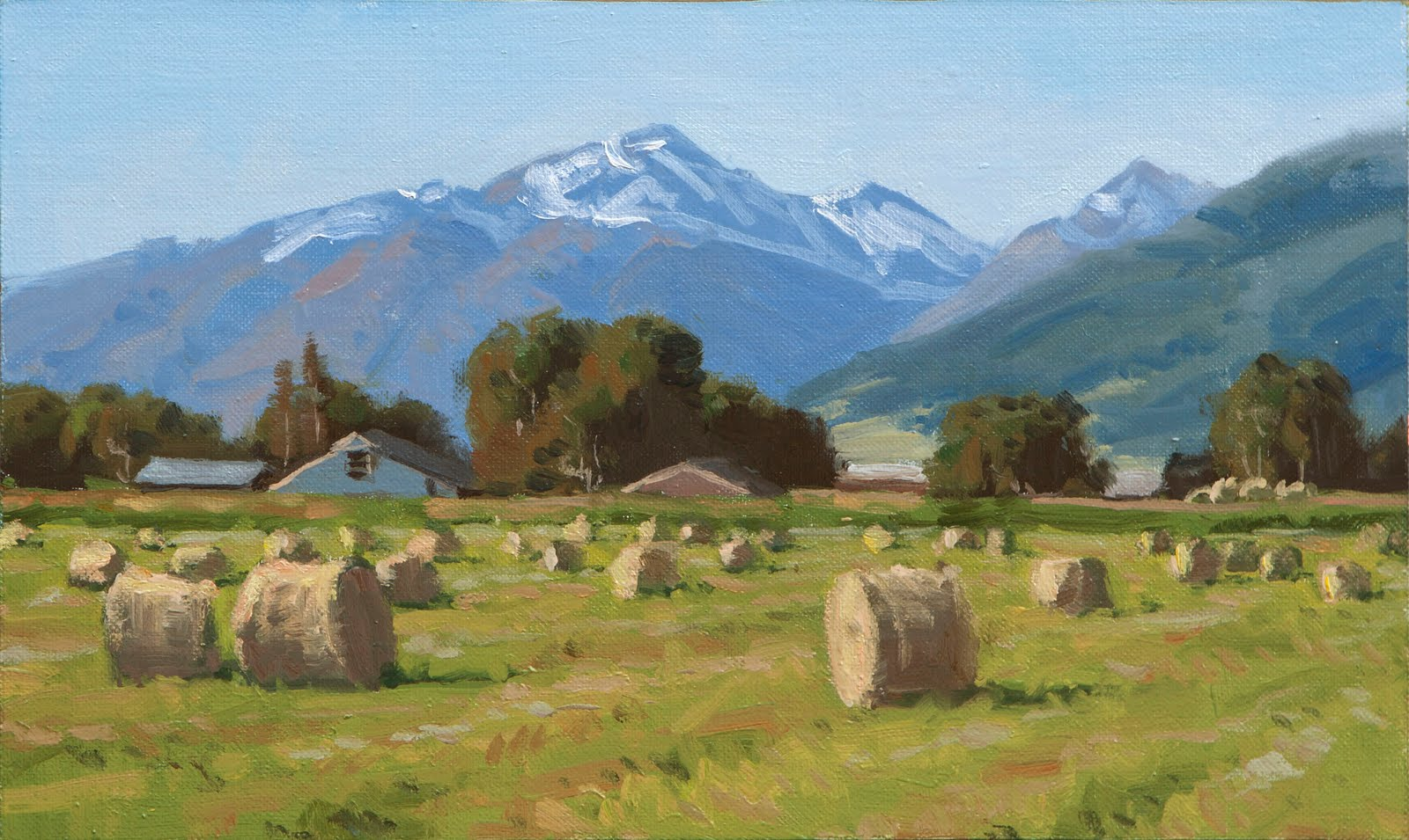 Calahan Fine Art Blog Hay Rolls