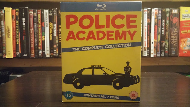 The Police Academy collection from the U.K.