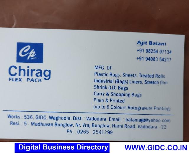 CHIRAG FLEX PACK - 9825407134 9408354217
